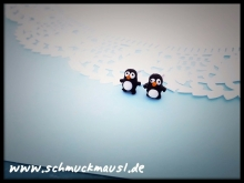 Mini Pinguin Ohrstecker