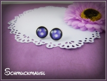 Purple Blowball Cabochons